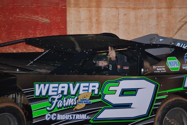 County Line Raceway, Practice 3/2/12